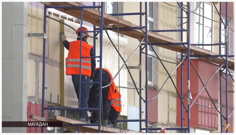 Вентилируемые фасады с утеплением теперь можно монтировать круглый год в Магадане